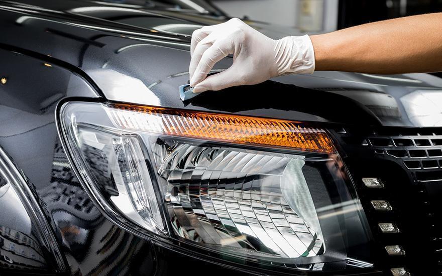 czyszczenie lakieru samochodu