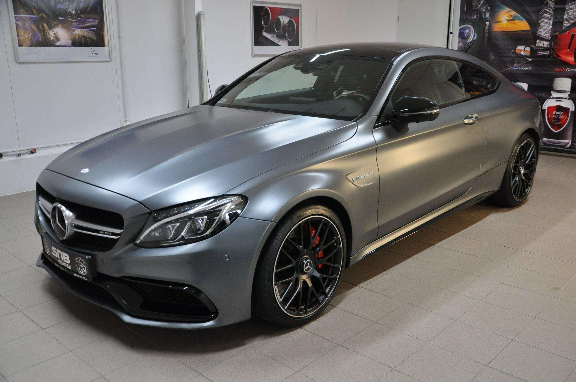 Mercedes C Coupe 63 AMG